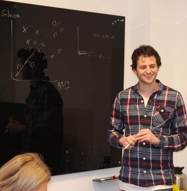 Rick geeft cursus Data Science
