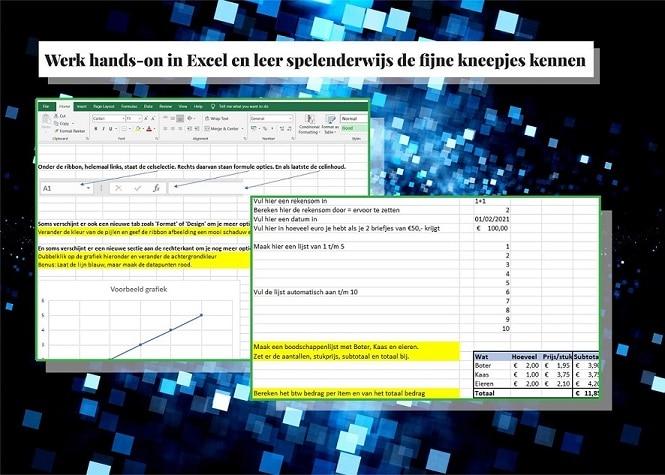 Excel cursus voorbeeld
